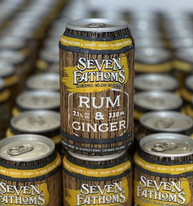 Seven Fathoms Rum And Ginger 7.1%